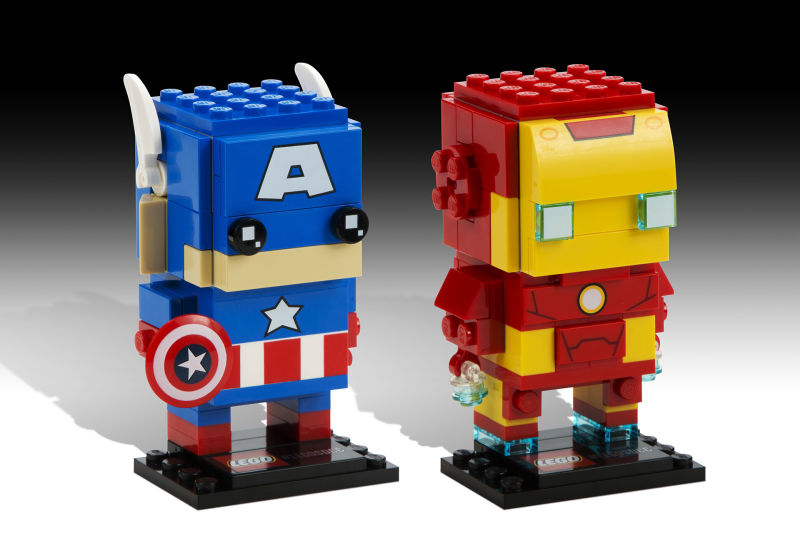amerika kapitany iron man lego