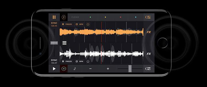 Apple iPhone 7 sztereó hangszóró