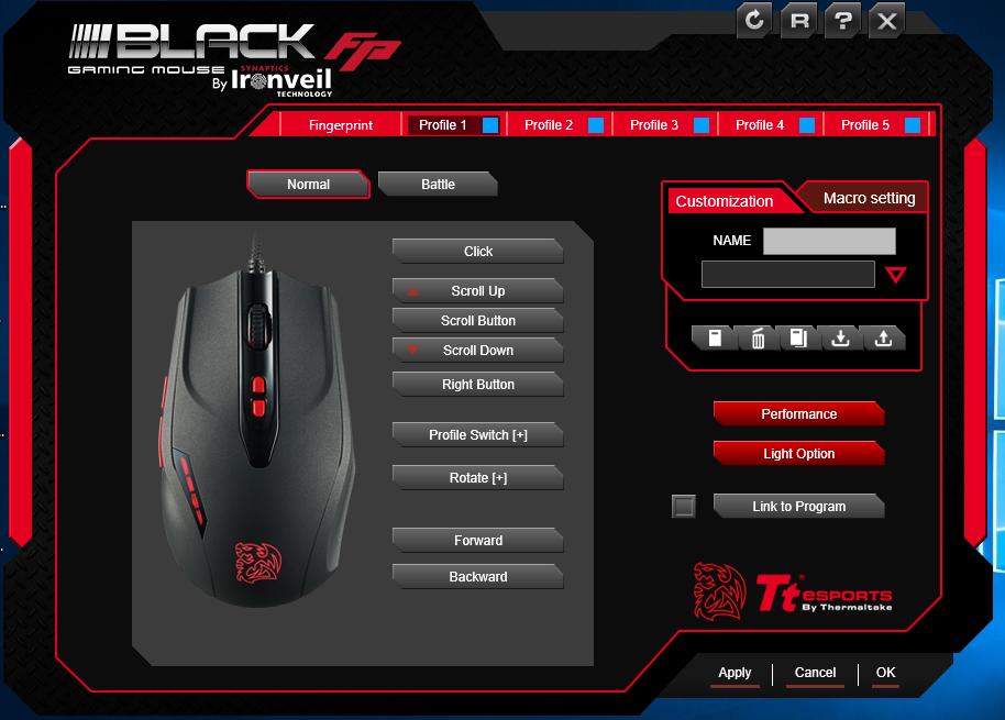 Tt eSports Black FP