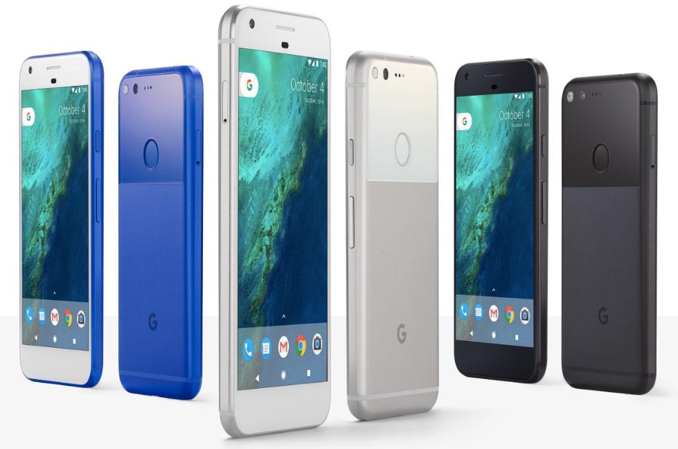 Google Pixel és Pixel XL
