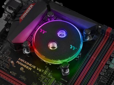 Thermaltake Pacific W4 RGB CPU Water Block-No-Fuss Expansion