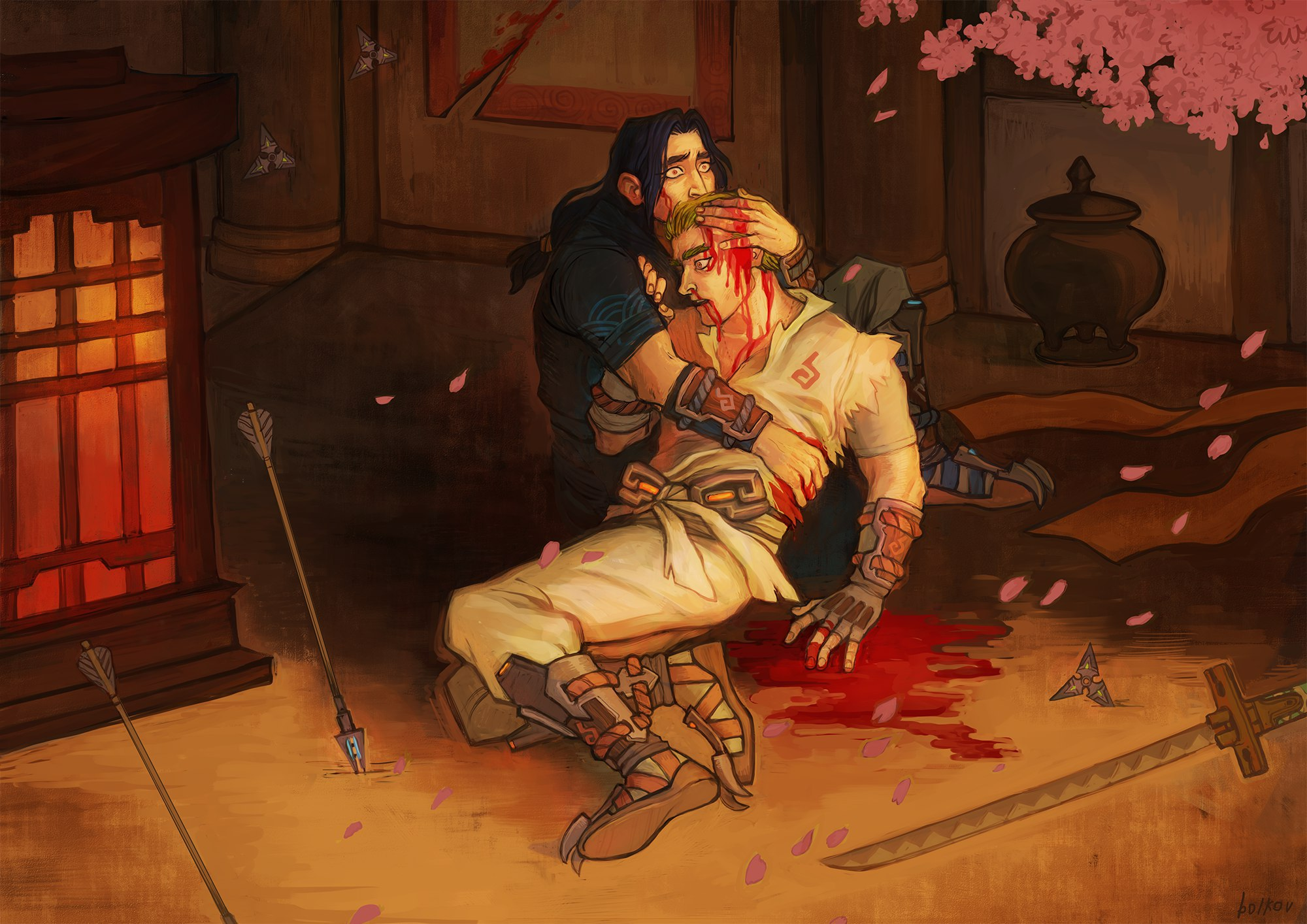 Ivan the Terrible and his son x Overwatch