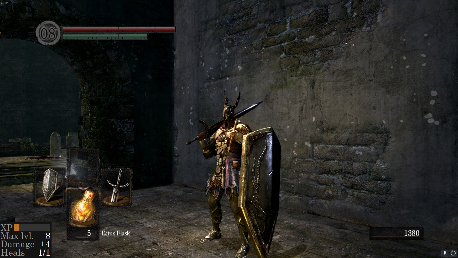 dark souls gun game