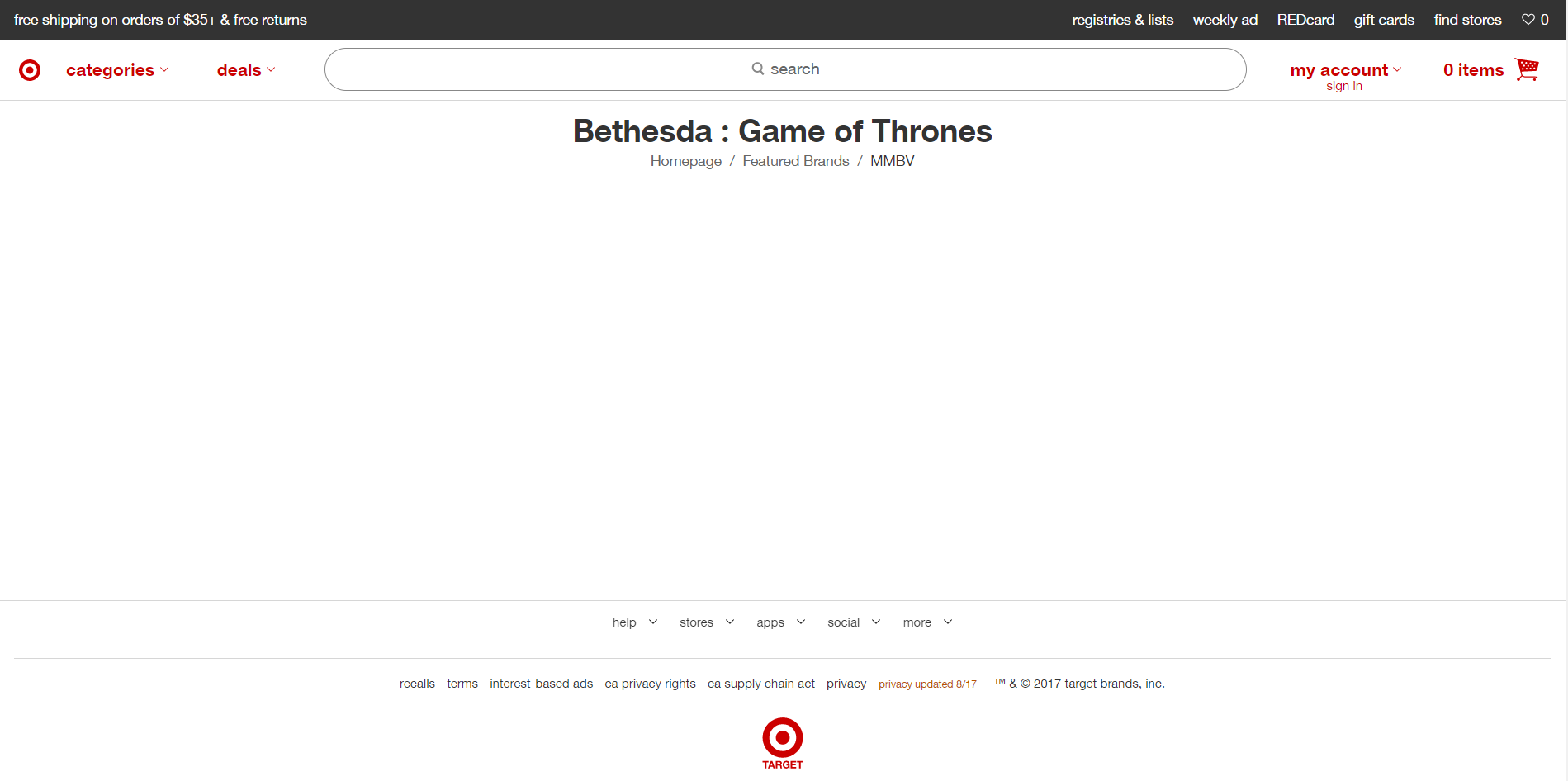 neogaf target bethesda game of thrones